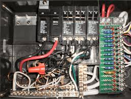 rv net open roads forum tech issues oddly wired distribution panel if this seems odd to you as well i purchase another breaker and put it on the left black leg bus and then put just the converter on it