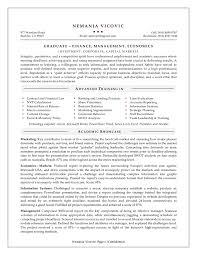 Resume Objective Business Under Fontanacountryinn Com