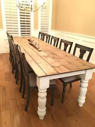 table white legs wooden top white dining table with dark wood top dining table dark wood