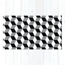 white grey rugs cube pattern black white grey rug black white grey chevron rug