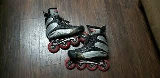 Mens Mission Helium Roller Hockey Inline Skates Size 8e