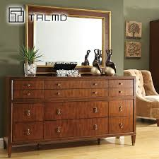 get quotations talmd figure mai modern american station makeup mirror dressing table dresser solid wood storage chest of