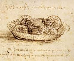 even leonardo da vinci made math mistakes houston chronicle drawing of a military machine from a leonardo da vinci notebook circa 1485 90
