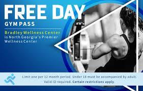 Free Guest Pass Bradley Wellness Center