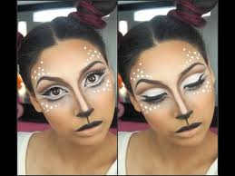 easy deer makeup tutorial deer makeup transformation ebonymaizemakeup you