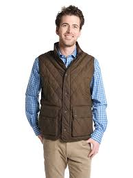 Peter Millar Keswick Waxed Cotton Quilted Vest/style/MF17Z17 & DARKMILITARY placeholder Peter Millar Keswick Waxed Cotton Quilted Vest ... Adamdwight.com