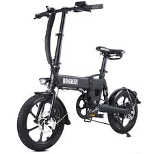 <b>DOHIKER Folding Electric Bicycle</b> 250W Collapsible Commuter Bike ...
