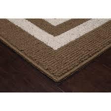 mainstays frame border area rugs or runner