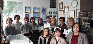Дипломы на руках УралДем Накануне Нового года общественные няняи закончили обучение на курсах младшего медицинского персонала А в 18 января получили дипломы Ура