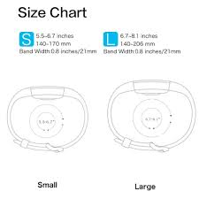 Fitbit Alta Wrist Size Chart Us 1 89 30 Off Baaletc Replacement Bands For Fitbit Charge 2 Silicone Smart Watch Wrist Strap Band For Fit Bit Charge 2 Bracelet Small Large In