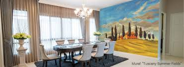 Terrific Wooden Wall Murals Decorating Ideas Gallery in Dining Room  Traditional design ideas