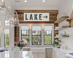 Lake Decorating Accessories Enchanting Lake Sign Large Canvas Art Lake House Decor Fixer Upper Lake