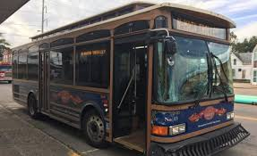 METS Trolley Bus Hits Pickup Truck At Intersection Of Columbia ...