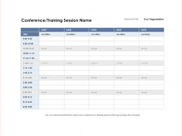 Restaurant Employee Schedule Template Excel And 5 Conference ...