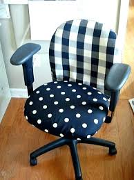 chair seat covers diy fabric and office makeover for party13 chair
