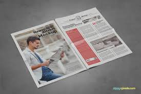 Full Page Newspaper Ad Template 20 Best Newspaper Advertisement Mockup Psd Templates Mooxidesign Com