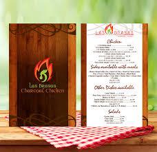 Restaurant Menu Book Design Feminine Elegant Fast Food Restaurant Menu Design For A