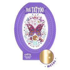 тату для тела Djeco бабочка Dj09604 будинок іграшок купить в киеве харькове