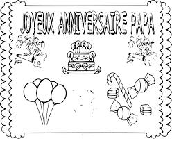 Coloriage Joyeux Anniversaire Papa A Imprimer Gratuitll L