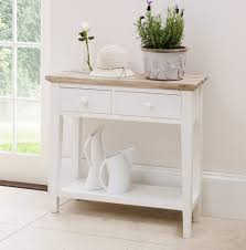 Kitchen Elegant From Kitchen Console Table Florence Small White