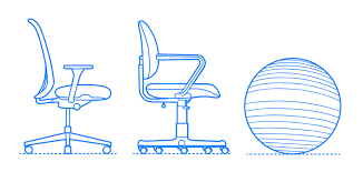 Table Chair Height Chart Office Chairs Desk Chairs Dimensions Drawings