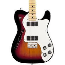 fender modern player telecaster thinline deluxe electric guitar hidden seo image