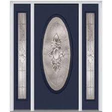heirloom master right hand oval lite decorative fiberglass