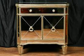 borghese mirrored furniture. Borghese Mirrored Side Chest Deco Cabinet Cupboard Furniture E