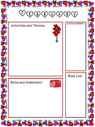 february newsletter template free february newsletter template valentines preschool