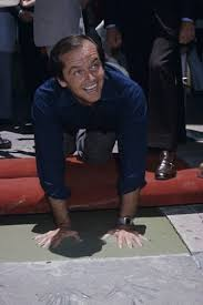 best mr cool jack nicholson images jack jack nicholson putting his hand and footprints at grauman s chinese theatre