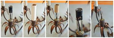 chandelier candle cover step by instructions for rewiring a covers australia