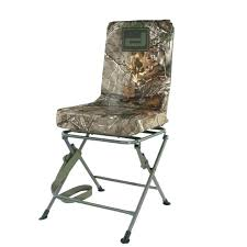hunting stool quake the stag swivel hunting stool with chairs banded chair blind tall image random