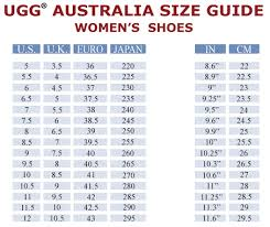 Baby Ugg Size Chart Home Decorating Ideas Interior Design