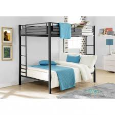Dorel Full Over Full Metal Bunk Bed, Multiple Finishes With 2  Inside Full  Size