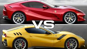 2018 ferrari superfast. wonderful 2018 2018 ferrari 812 superfast vs 2016 f12tdf intended ferrari superfast