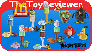 2016 The Angry Birds Movie McDonalds Happy Meal Toy Chuck Figure #8