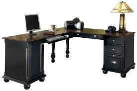 home office desk black. computer desk l shaped nice black home office desks with glass canada