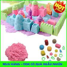 Mua Bộ đồ chơi tạo hình cát động lực cho bé   TẠI HÀ NỘI J4 in 1 chỉ  103.000₫