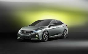 honda civic hatchback 2016. Exellent Hatchback 2016 Geneva Motor Show Honda Civic Hatchback Concept Revealed For 4