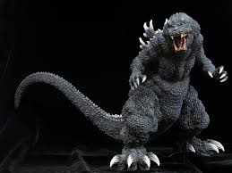 The figures come in various classes, each defining different features of the figures. X Plus Godzilla Toho Gigantic Series Kaiju Battle