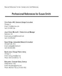 Resume Reference Page Reference Example For Resume Www Sailafrica Org