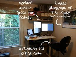 work from home office. An Addition Like A Vertical Monitor Doesn\u0027t Necessarily Make Sense For Anyone Working From Home, But That\u0027s What Makes It So Useful \u2013 It\u0027s Tailored To Work Home Office