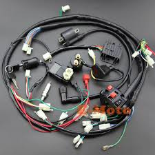 gy6 150cc go kart wiring harness wiring diagram for you • full electrics wiring harness cdi ignition coil key ngk 150cc go kart wiring diagram coolster go kart wiring