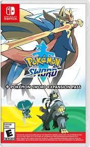 Amazon.com: Pokemon Sword + Pokemon Sword Expansion Pass - Nintendo Switch:  Nintendo of America: Video Games