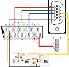 video cable schematics connection diagram