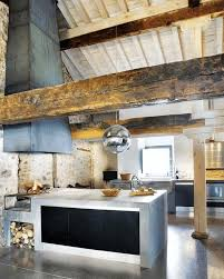 kitchen vaulted ceiling kitchen large yellow minimalist gloss island semo circle stainless steel chandelier black