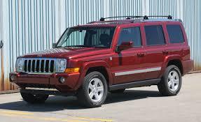 2006 Ford Explorer Eddie Bauer 4x4 vs. Jeep Commander Limited 4x4