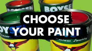 Types of paints Acrylic Getting Confused With The Different Types Of Paints For Different Substrates Let Boysen Help Narrow Down Your Choices By Giving You Paint Options Amazoncom Pacific Paint boysen Philippines Inc Boysen The No Paint