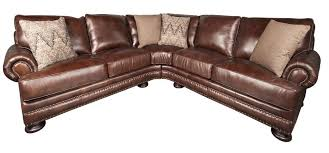 brown leather sectional couch foster 100 leather sectional sofa brown leather sectional sofas