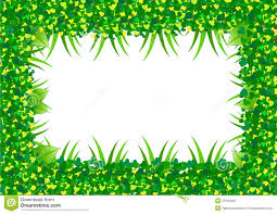 Green Leaf Border Stock Vector Illustration Of Grow 37640595